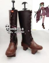 Anime Vocaloid Hatsune Miku Senbonzakura Halloween Girls Cosplay Long Boots Shoes