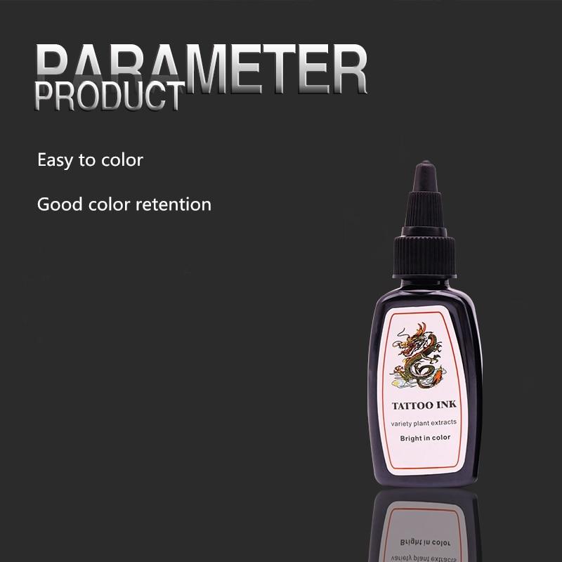 5 Bottles Permanent Make up Tattoo Pigment Ink Of Dragon King Best ...