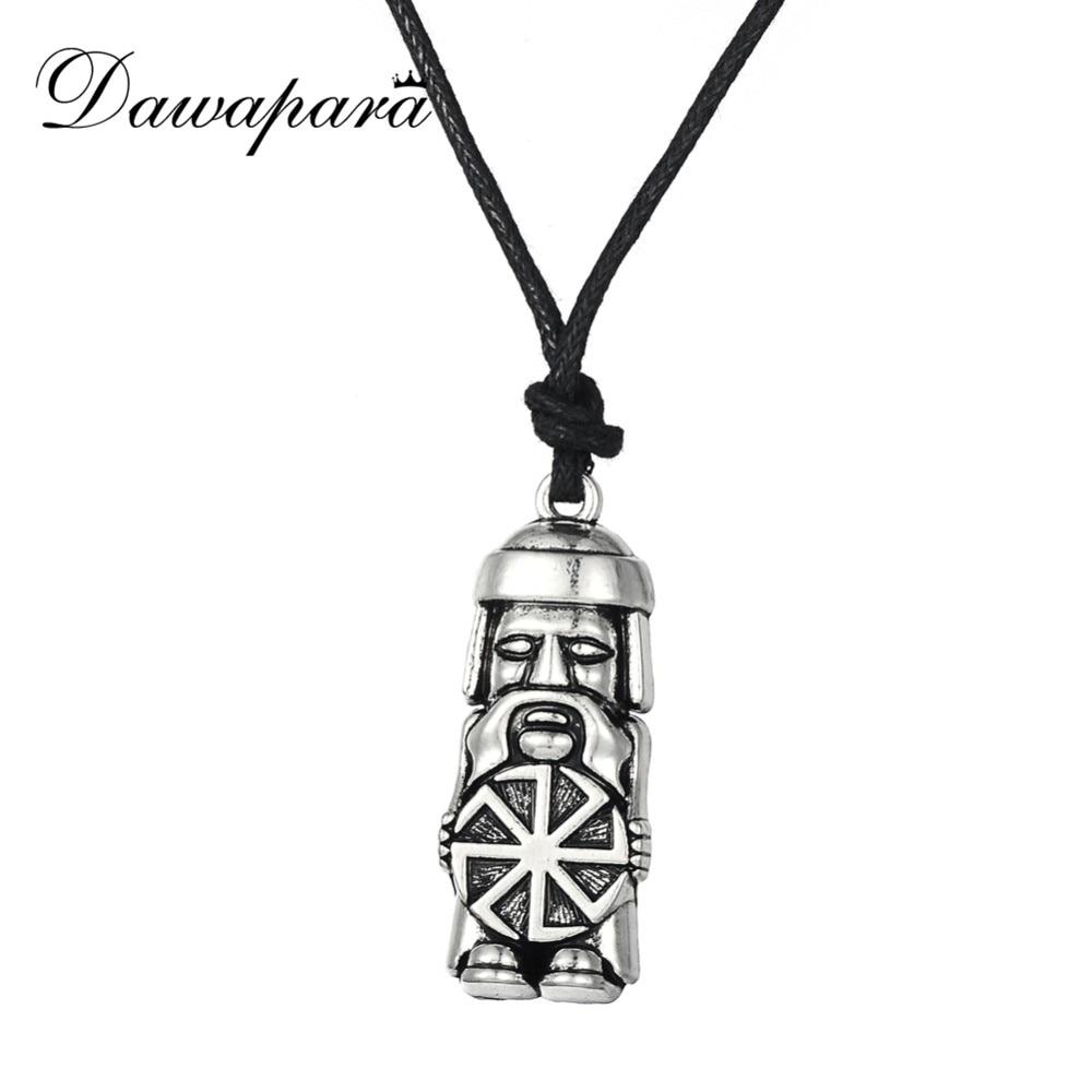 Dwapara slaviske soldat Kolovrat amulett og Talisman anheng - Mote smykker