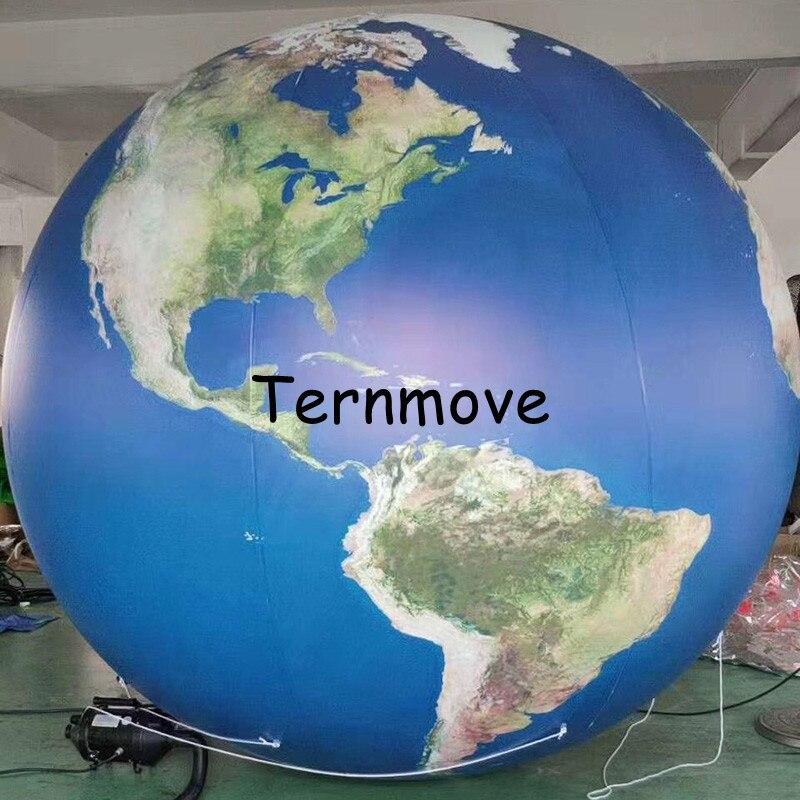 Terre gonflable, grands globes gonflables du monde à vendre globe gonflable livraison gratuite éducation géographique publicité jouet - 3