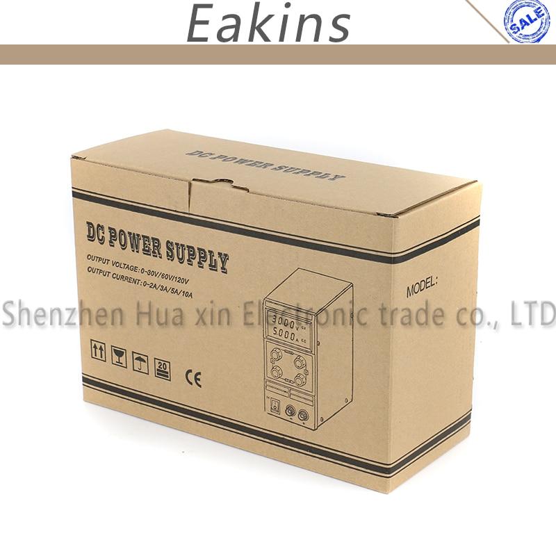 KPS-3010D KPS-3010DF Mini Digital ajustable laboratorio DC fuente de alimentación 30 V 5A 10A 110 V-220 V de conmutación fuente de alimentación 0,1 V/0.01A - 4