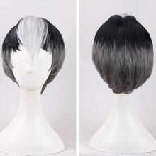 New Arrival Voltron: Legendary Defender Shiro Wig Voltron Legendary Defender Anime Cosplay Hair Props Men Hot Sales+Wig Cap