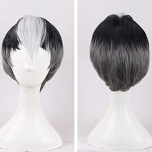 Nova chegada voltron: lendário defensor shiro peruca voltron lendário defensor anime cosplay cabelo adereços homens vendas quentes + peruca boné