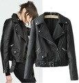 Дамы в Европе и ветер локомотив кожа модный бренд ПУ развивать нравственность Куртка,