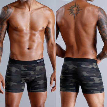 8pcs/lot camouflage boxer men unde