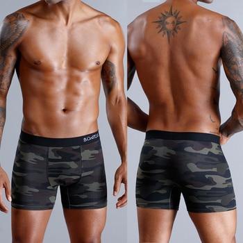 8pcs/lot camouflage boxer men unde
