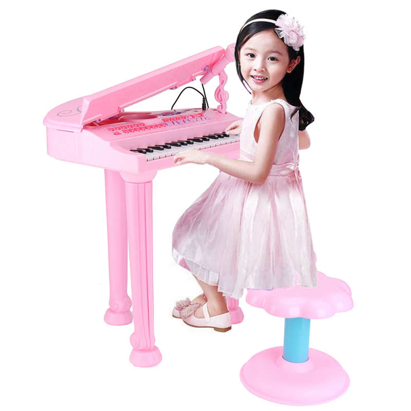 Enfants Électronique Grand Clavier Piano Clavier De L'instrument De Musique Orgue Jouet Microphone Jouets Éducatifs Cadeau Pour Les Enfants