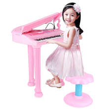 Kids Electronic Grand Keyboard  Piano Musical Instrument Keyboard Organ Toy Microphone Educational Toys Gift For Children