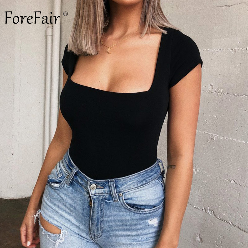 Forefair Bodysuit Women Summer Jumpsuits Sexy (15)