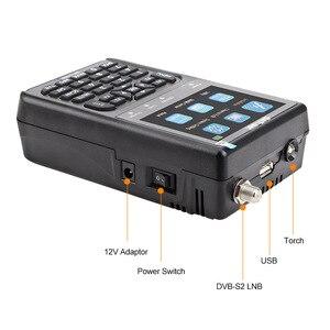 Image 4 - SATLINK SP 2100 HD سات مكتشف DVB S/S2 Satfinder MPEG 2/4 الرقمية الأقمار الصناعية مكتشف متر مع 3.5 بوصة شاشة LCD pk WS 6906