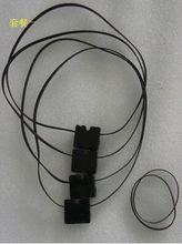 4pcs/lot 3D Printer DIY Parts For Ultimaker 2 UM2 Original Injection Slider With Copper Sleeve + GT2 610 Timging Belt