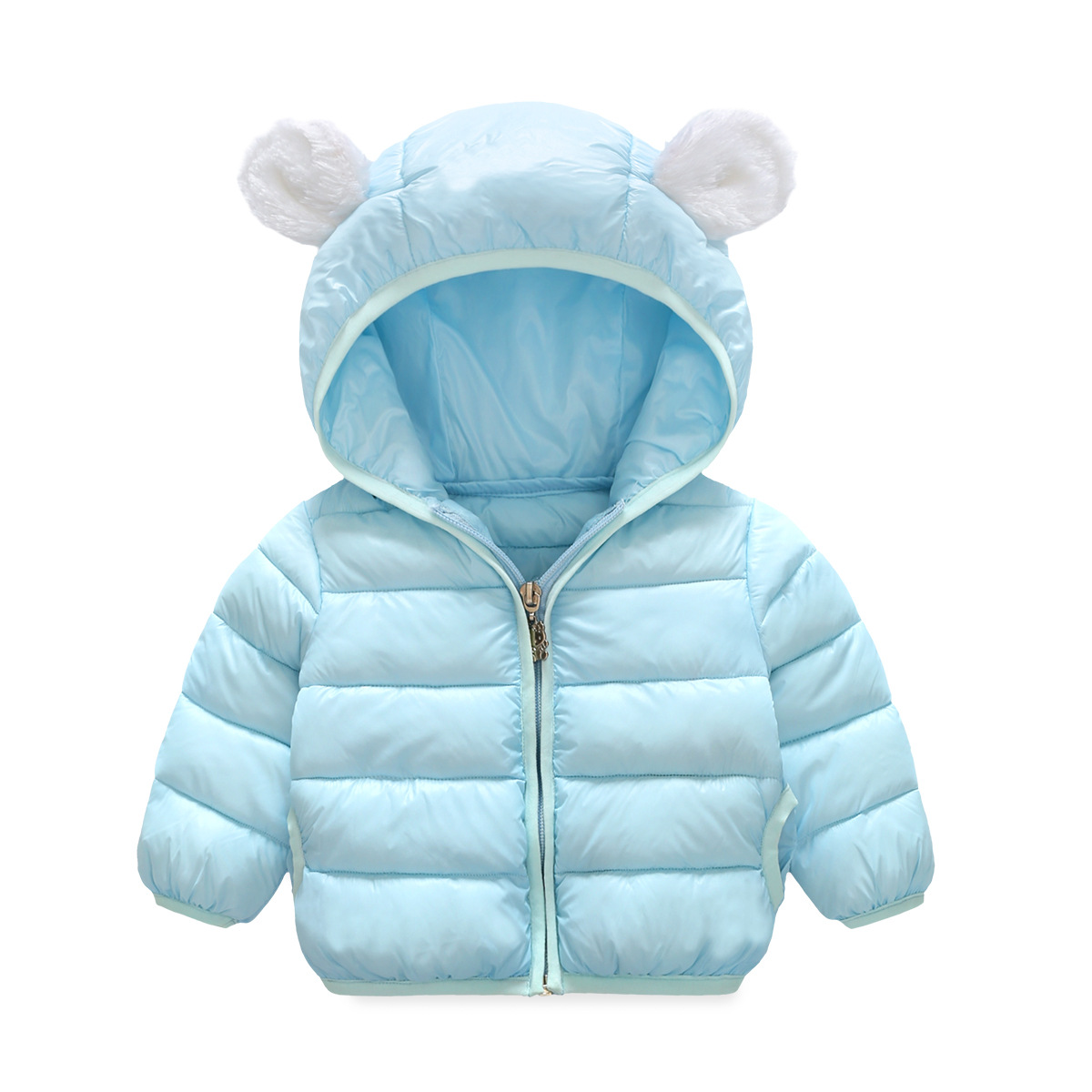 2017 New Girls Coats Autumn Winter Baby Girls Cotton Outerwear Children Cotton-padded Jackets Warm Girls Hooded Coat for 6M-4Y 9m 4t baby girls 2015 new autumn winter thick wadded coat kids cotton warm hooded jackets children padded outerwear