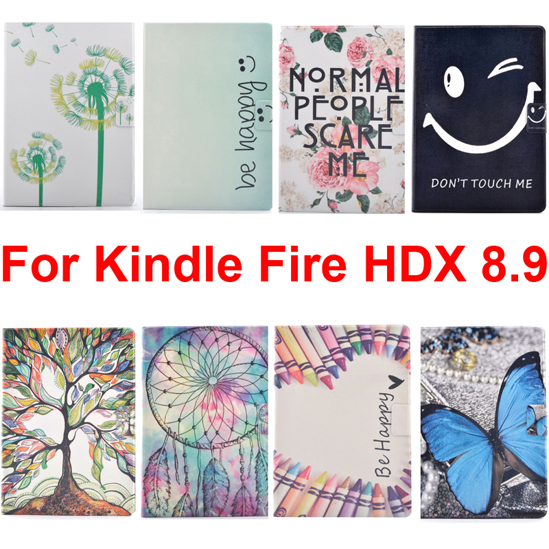 for amazon kindle fire hdx 8 9 inch cover case skin bag kindlefire