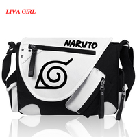 Anime Naruto Kakashi Cosplay Shoulder Bag Messenger Bag teenagers Men women's Student travel School Bag Laptop Bags Cosplay