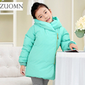 Winter Jackets For Girls White Duck Down Coat Lightweight Girl Thicken Snowsuit Children Down Coats Outerwear Kids Clothing G257