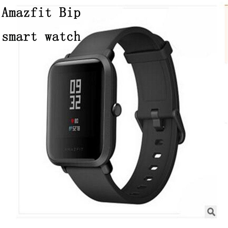 Smart Watch férfiak Xiaomi Amazfit Bip Smart Watch Huami GPS Smart Watch Android IOS Bluetooth 4.0 pulzusszám 45 nap akkumulátor IP68