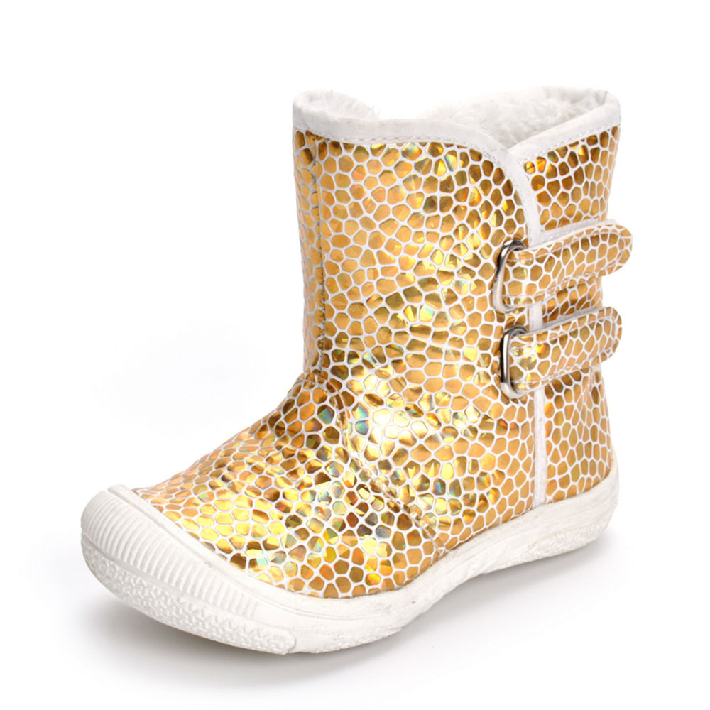 Hot SALE Children Shoes Toddler Newborn Baby Boy Girl Gold PU Leopard Boots  Prewalker Warm Martin Shoes-in Boots from Mother   Kids on Aliexpress.com  ... 637c45d2a66f