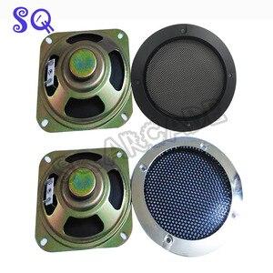 Image 1 - 70 Stks/partij Vierkante 4 Inch 8ohm 5W Speakern Met Netto Arcade Game Machine Accessoires Kast Onderdelen