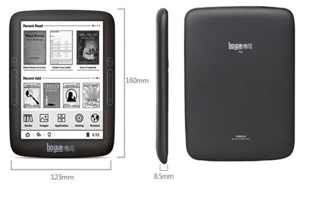 For Boyue T62 8G Dual Core 6 Inch WIFI Android Ebook Reader E ink Touch Screen
