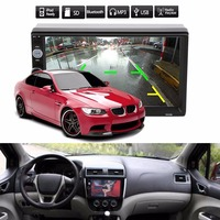 Vehemo Universal HD 7 Inches Double 2Din Car Auto Bluetooth Touch Screen MP5 Player Waterproof DC