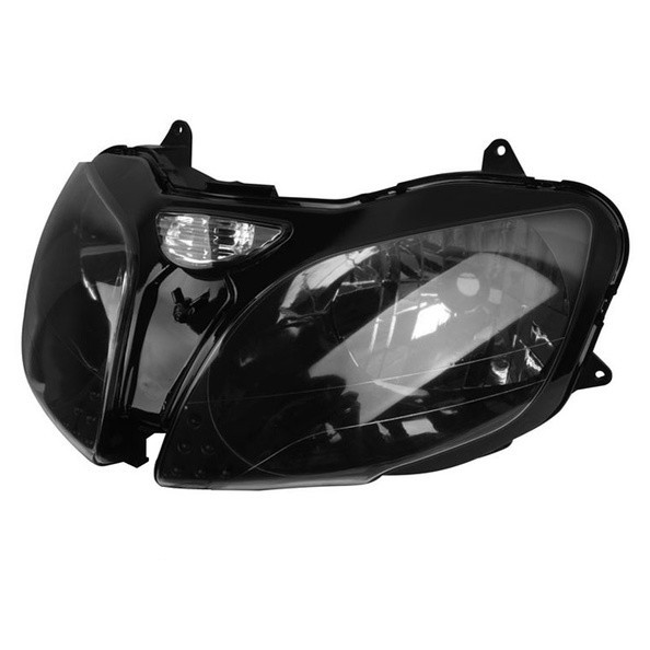 For Kawasaki Ninja 00 03 ZX9R 00 02 ZX6R 00 08 ZZR600 Motorcycle Front Headlight Head Light Lamp Headlamp Assembly