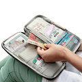 2016 Passport Holder New Men&Women ID Credit Card Holders Wallet Clutch Canvas Zipper Case Bags Big Capacity Travel Money Wallet