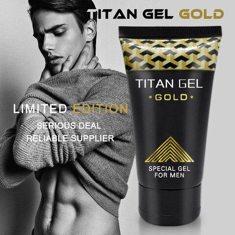 6pcs Original Russian TITAN GEL GOLD for Men Penis Enlargement Cream Grease for Sex Big Dick Growth Thicker Long Time Sex Delay Islamabad