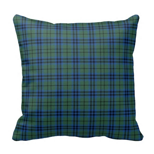 Tall Keith font b Tartan b font Plaid Pillow Case Size 20 by 20 Free Shipping