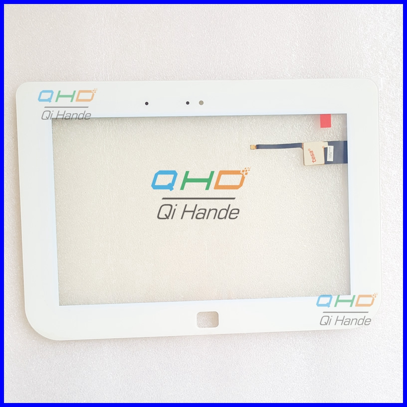 White New For 10.1 101287n-q-02 Tablet Capacitive touch screen panel Digitizer Glass Sensor Replacement Free Shipping new capacitive touch screen panel digitizer for 10 1 onda v10 3g tablet glass sensor replacement free shipping