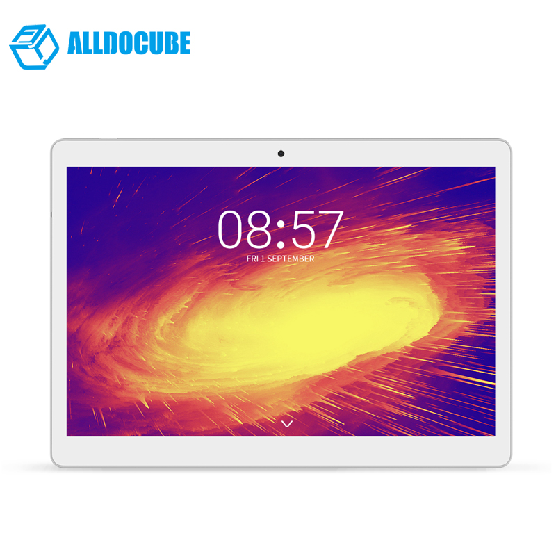 ALLDOCUBE M5 Tablets PC 10.1 Inch 1600*2560 4G Phone Call Tablet PC MTK6797 X20 Deca core Android 8.0 4GB RAM 64GB ROM alldocube m5s 10 1 inch 1200 1920 4g phone call tablet pc mtk6797 x20 deca core android 8 0 3gb ram 32gb rom