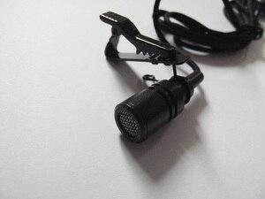 Image 4 - 1 m/3ft kim loại Ve Áo tie Clip Trên Ve Áo Microphone Mic Đối Thoại Amplifier Loa Mike Với Bright Rõ Ràng âm thanh