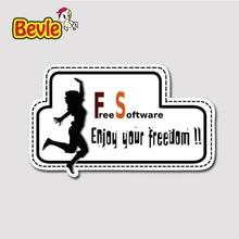 Bevle 3235 Freie Software Wasserdicht Mode Kühle DIY Notebook Aufkleber Laptop Gepäck Mode Graffiti Auto Cartoon 3 Mt Aufkleber