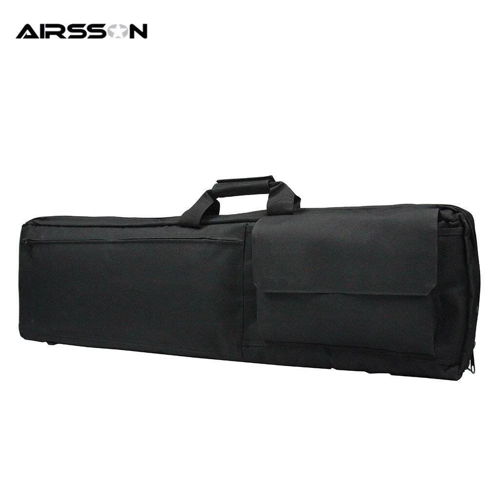 Prix pour Airsson Chasse Gun Sac 100 cm 38 Pouce Rembourré Antichoc Fusil Épaule Transport Sac Militaire Fusil de Chasse Étanche Protection Cas