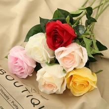 45cm height artificial rose flower high-grade fake wedding party Festive home decor ikebana Valentines Day photograph