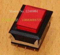 [SA] Dual trigger met geen slot reset rechthoekige rode knop schakelaar Taiwan Deli Wei dailywell -- 5 stks/partij