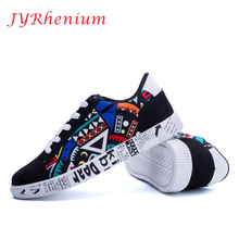 JYRhenium 2017 New Men skateboarding shoes British sport sneakers Classic canvas skateboard air mesh plus size Fitness Trainers