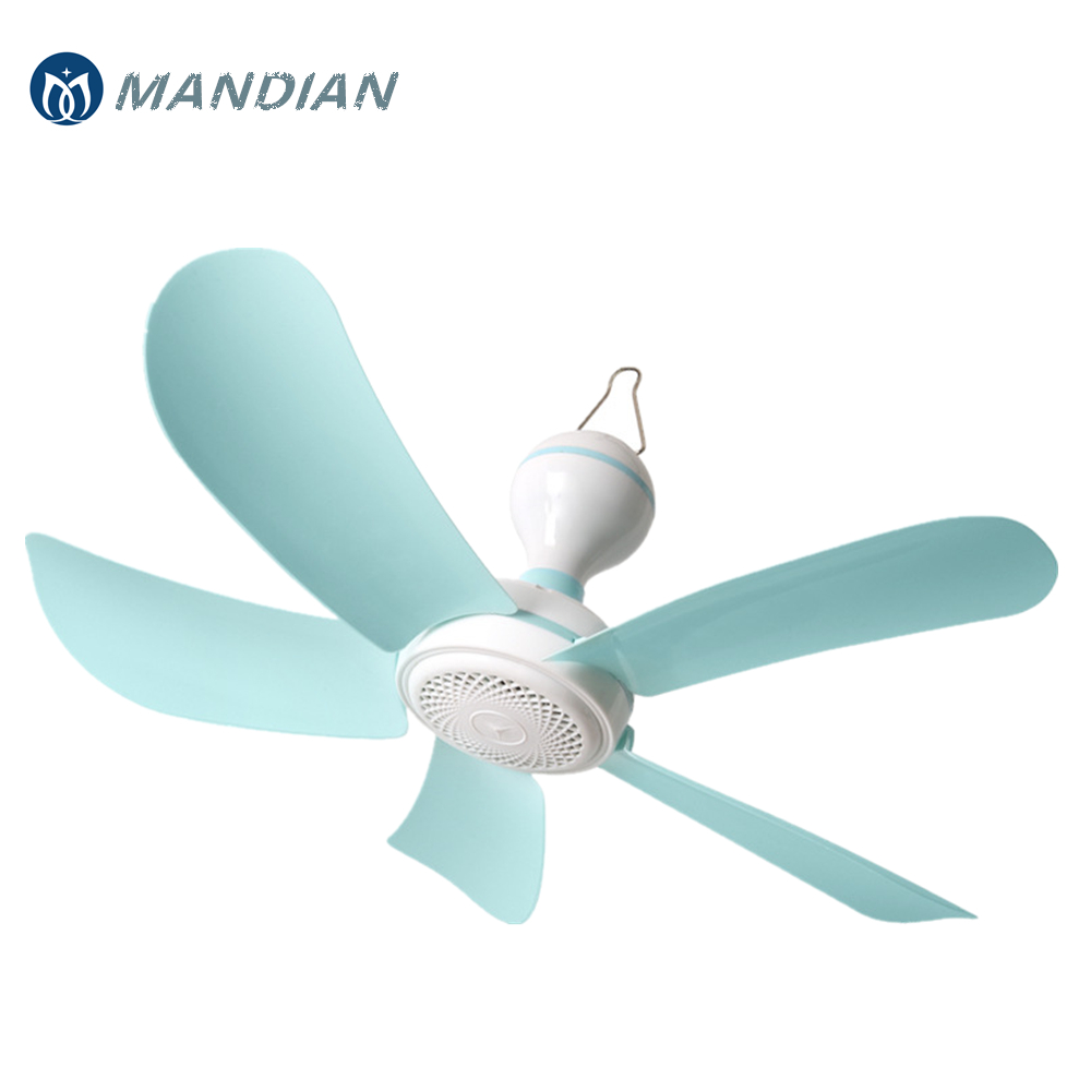 220V 7W Small Lake Green Energy-saving Fan Breeze Household Electric Mosquito Killer Mini Ceiling Cool Fan With 5 Leaves blue 7w silent plastic energy saving mini ceiling fan 3 5 turn page fan 220v hanging fan soft wind household