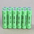 12 pçs/lote AAA bateria recarregável 1.5 V AAA Nova Marca Alcalina Baterias Recarregáveis frete grátis