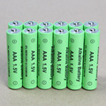 12 pcs / lot AAA rechargeable battery 1.5V AAA New Brand Alkaline Rechargeable Batteries free shipping