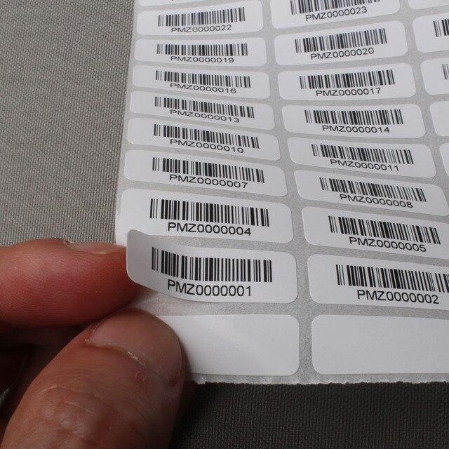 kundenspezifische barcode aufkleber druck anzahl liefert. Black Bedroom Furniture Sets. Home Design Ideas