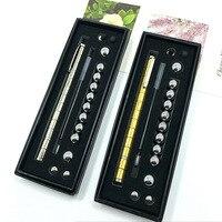 Crective Magnetic Ball Pen Polar Style Modular Neodymium Magnetic Pen Stressrelief DIY Desktoys