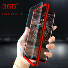360 Full Cover Protection Phone Case For Meizu Pro 7 M3 M5 M