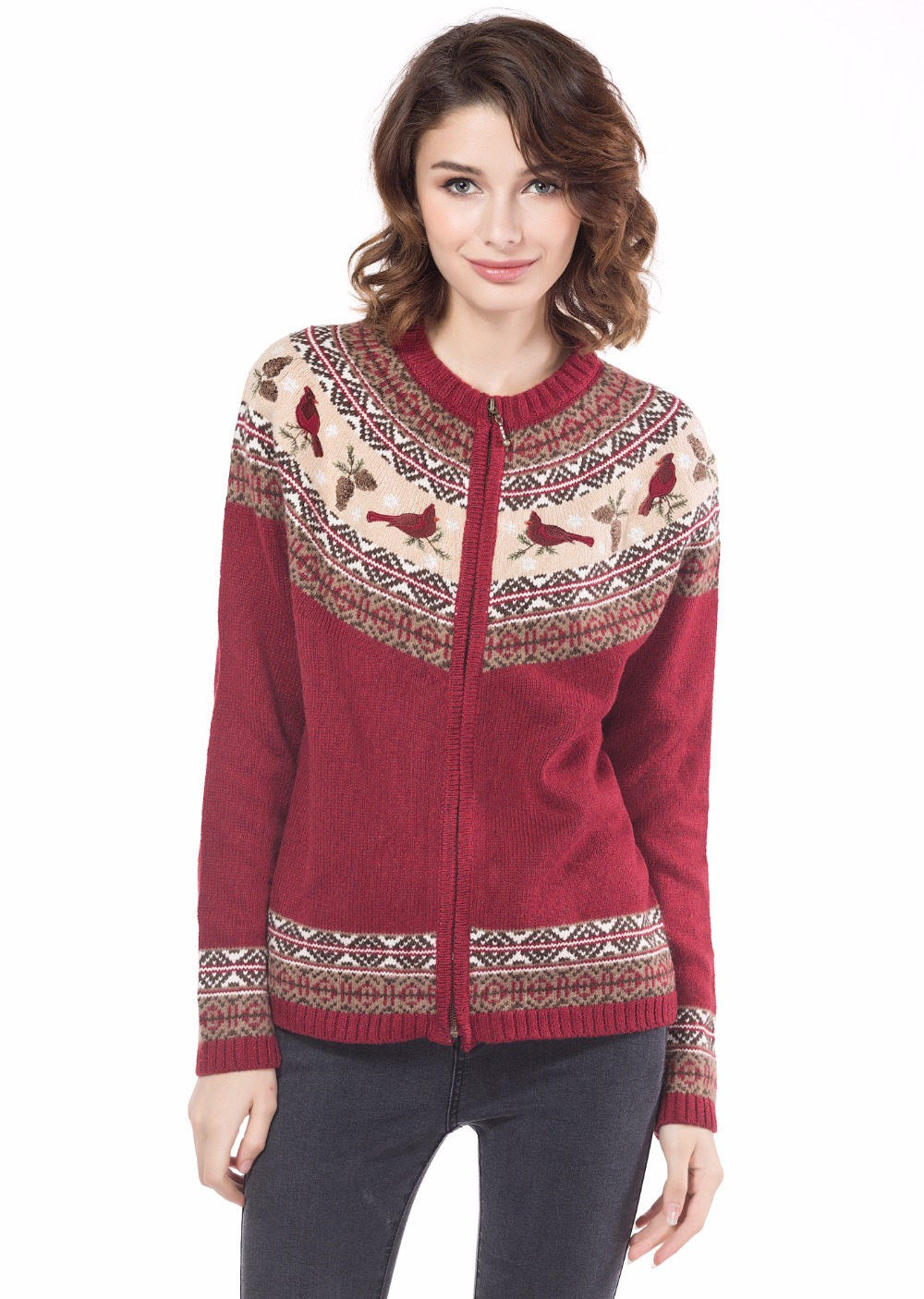 Red Sweaters For Women Photo Album - Asianfashion