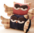Owl Plush Cushion Waist Pillow / Personality Big Wings Owl Pillow / Lumbar Automotive / Automotive Interior Supplies