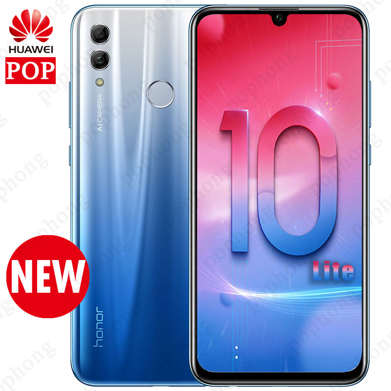 Global Version Huawei Honor 10 Lite Mobile Phone 6 2 inch Full Screen Android 9 0