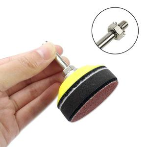 Image 5 - 2 inch 100PCS Sanding Discs Pad Kit for Drill Grinder Rotary Tools with Backer Plate 1/4inch Shank Includes 80 3000 Grit Sandpap