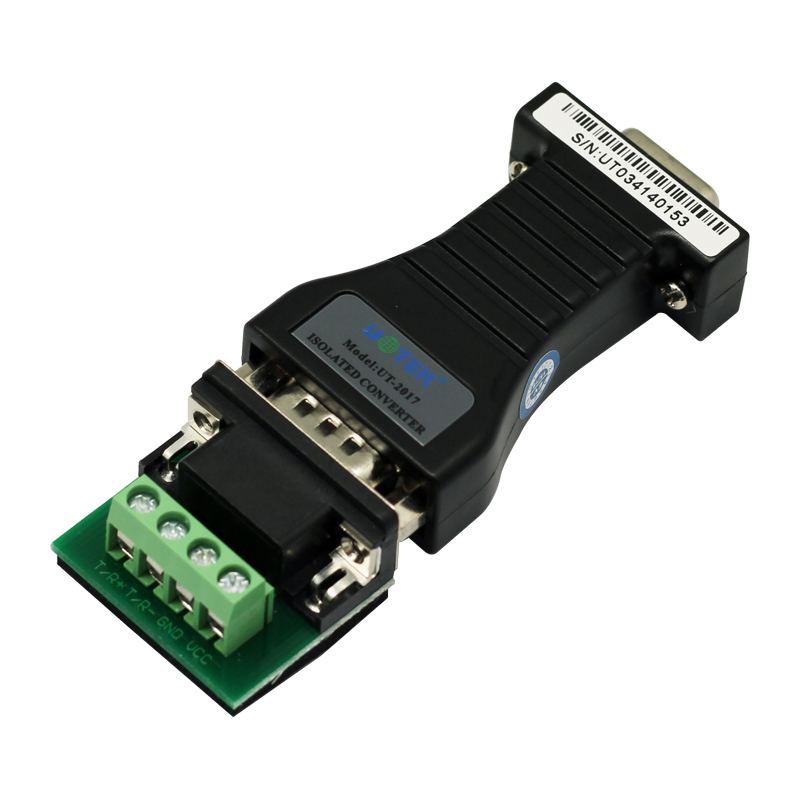 RS232 to RS485 converter with optical isolation passive interface protection rs485 converter rs232 rs485 rs485 converter passive monitoring accessories