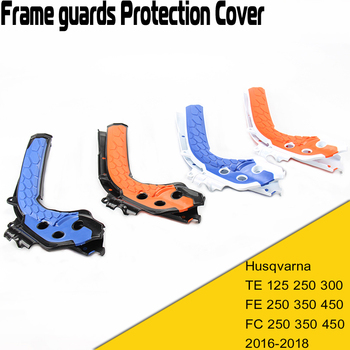 X-Grip Frame Guard Protection Cover For KTM SX125 150 SXF250 350 450 HUSQVARNA TC125 FC FE 250 2016 17