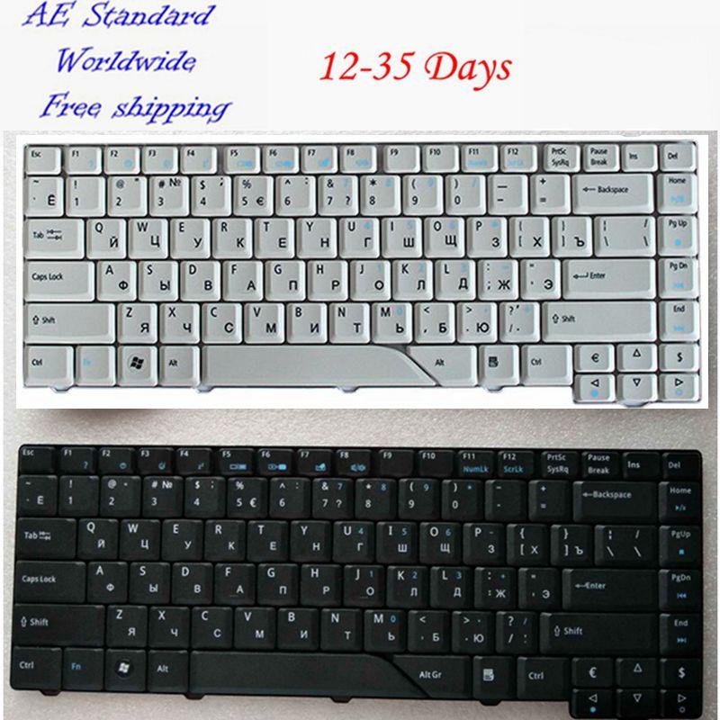 Galleria fotografica Russian Laptop Keyboard for <font><b>Acer</b></font> For Aspire 4710 5310 4210 4220 4520 4720 4920 5220 5520 5710 5720 5910 5920 5930 6920 RU