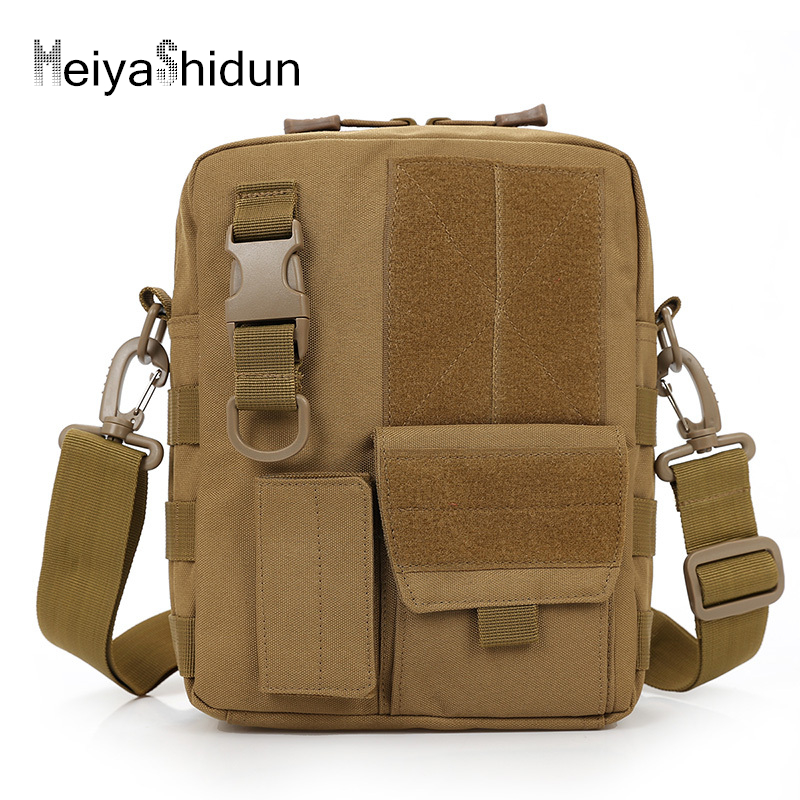 купить MeiyaShidun Men Messenger Bag Canvas Package Men's Shoulder Travel Bags bolsos business Multifunction military bag sacoche homme по цене 1002 рублей